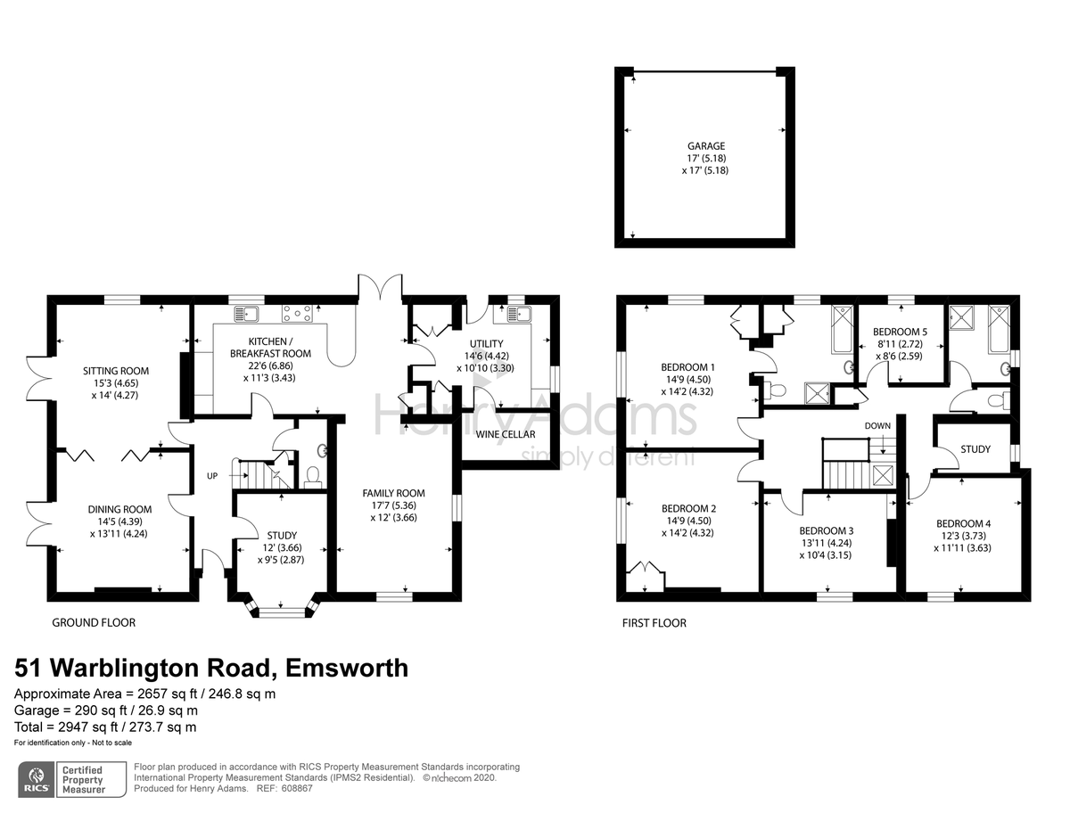 Warblington Road, Hampshire floorplan