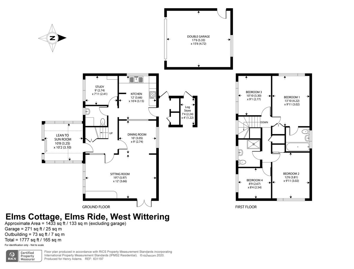 Elms Ride, West Wittering floorplan