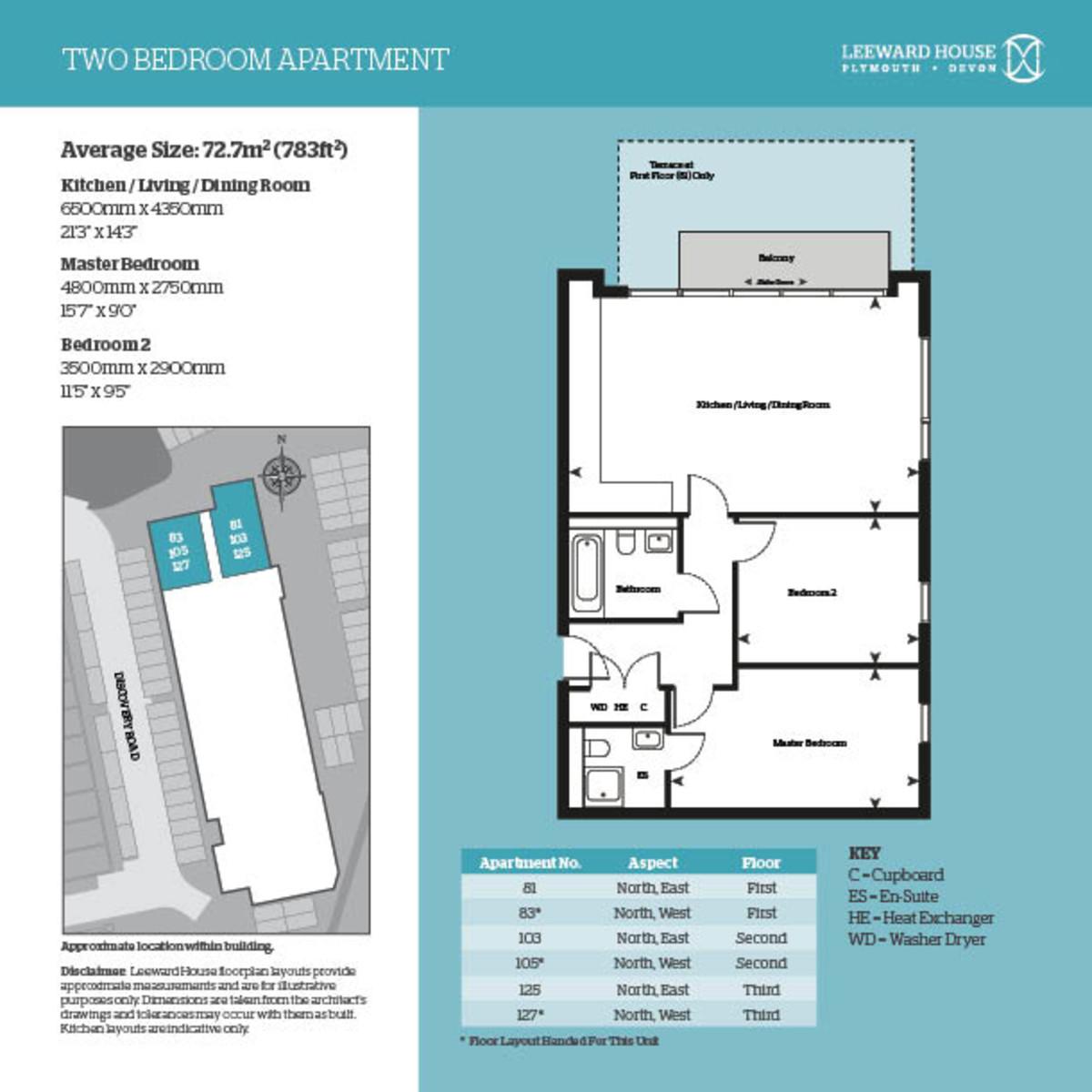 Leeward House, 127 Discovery Road Floorplan