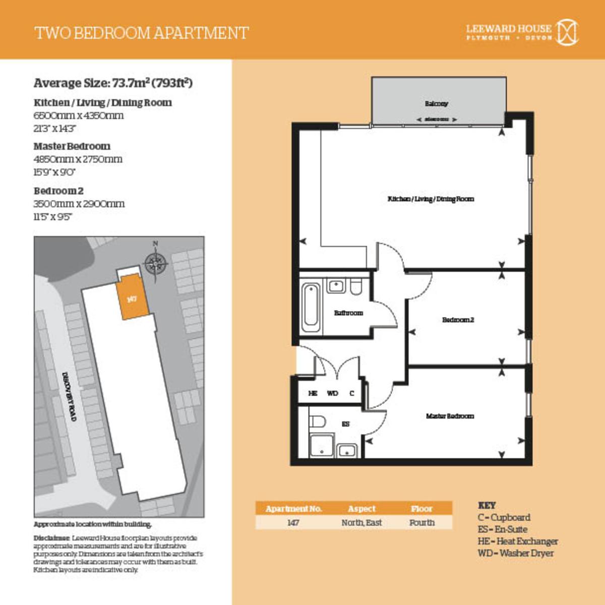 Leeward House, 147 Discovery Road Floorplan