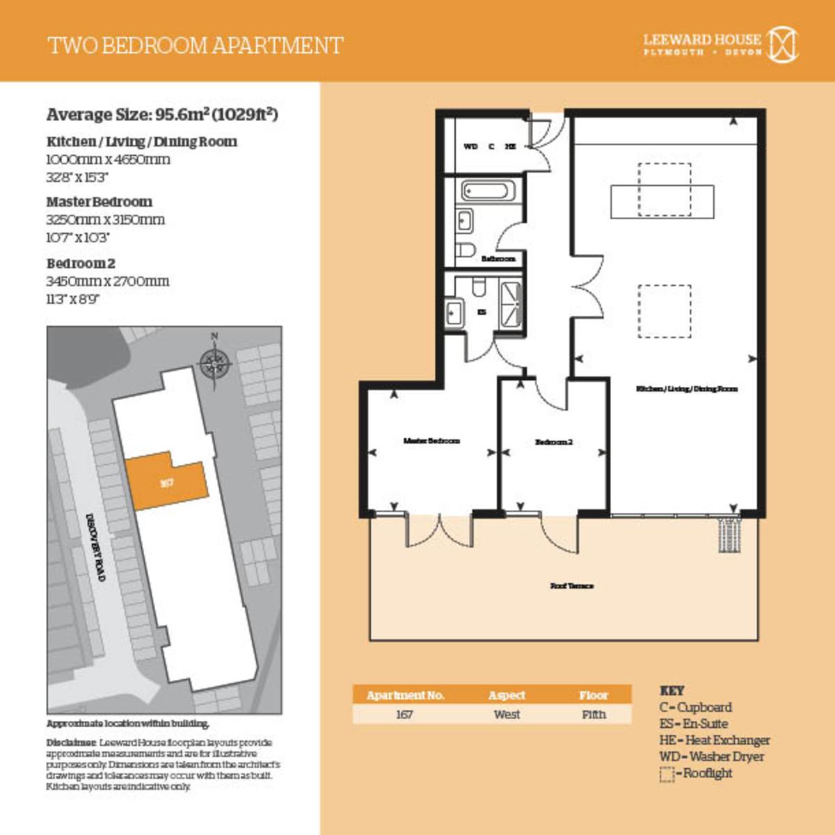 Leeward House, 167 Discovery Road Floorplan