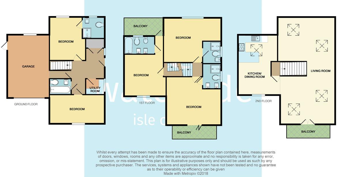 Cowes, Isle of Wight floorplan