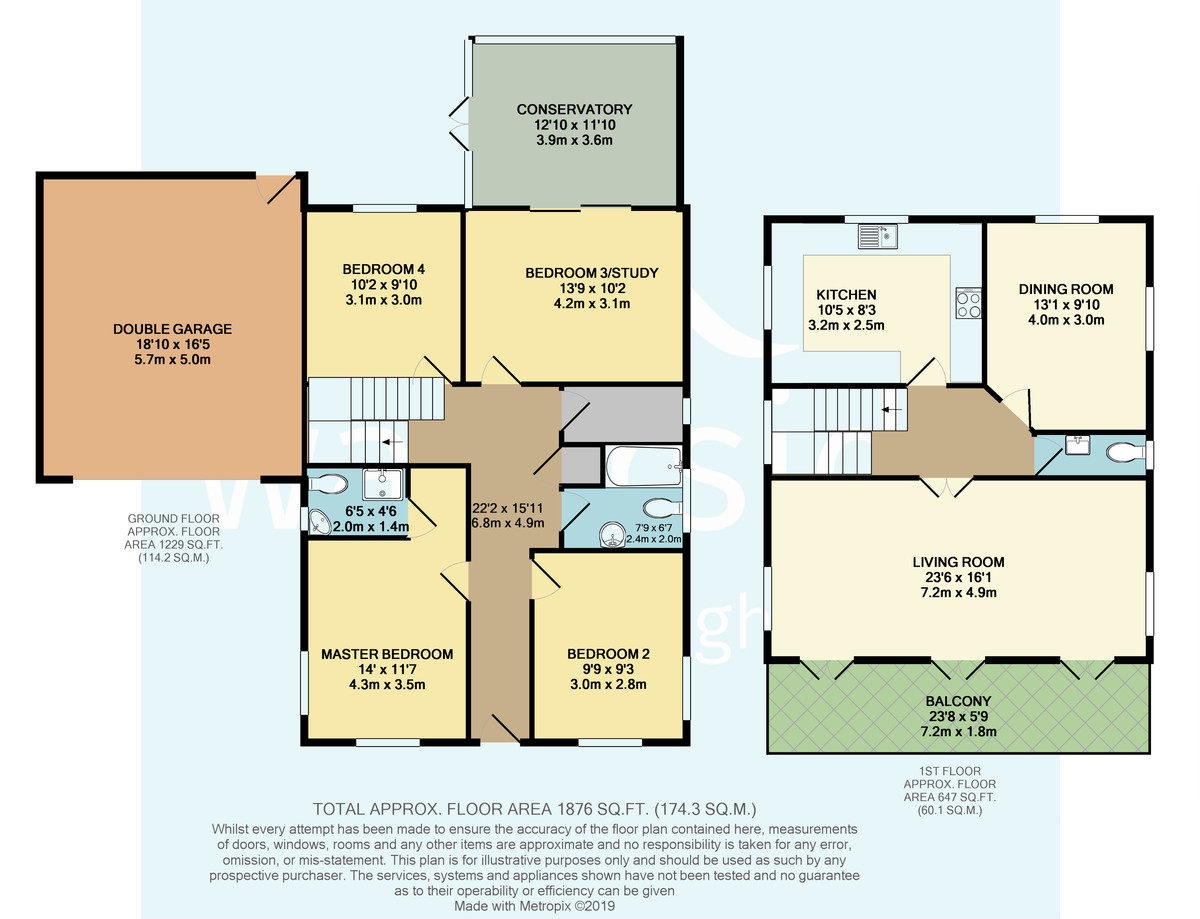 Solent House, Port La Salle, Yarmouth floorplan
