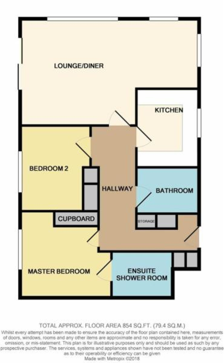 Grantham Court, Cowes floorplan
