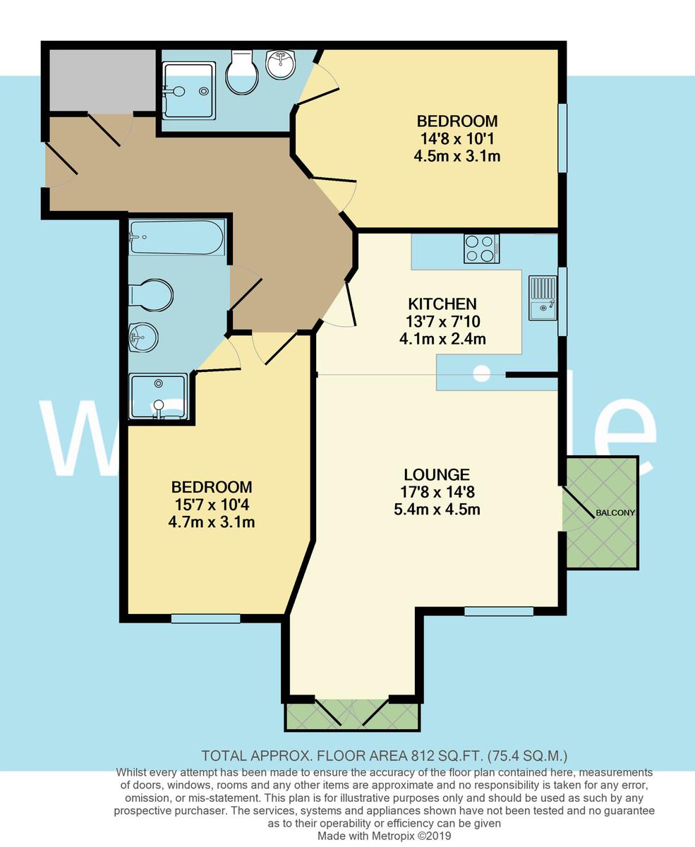St Martins, Freshwater Bay floorplan