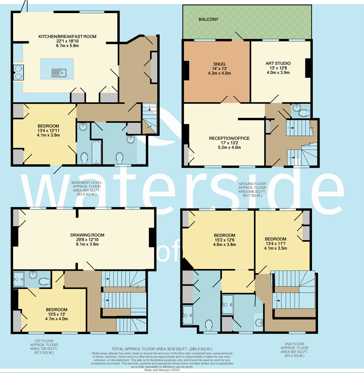 Cowes, Isle Of Wight floorplan