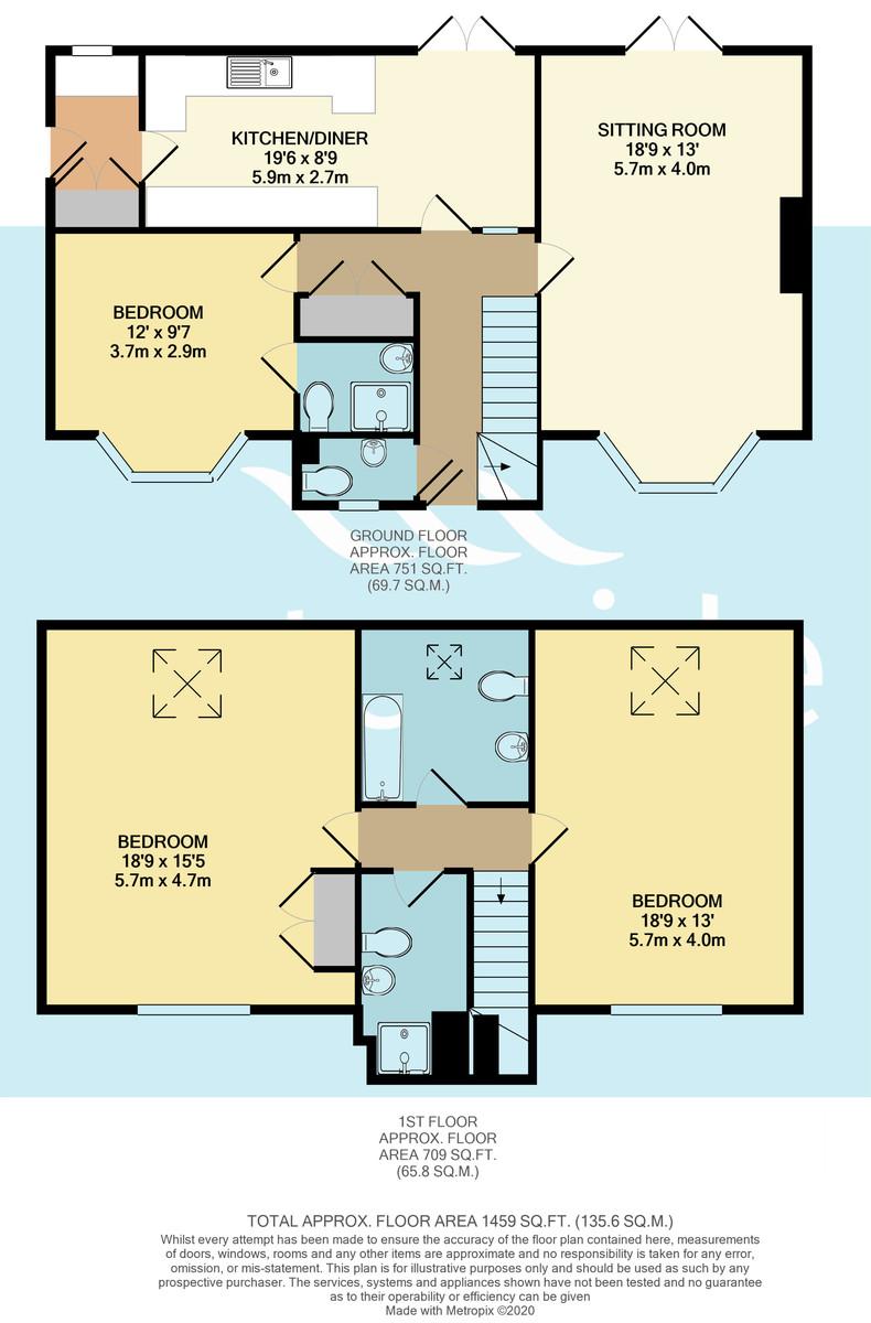 Oaklands View, Gurnard floorplan