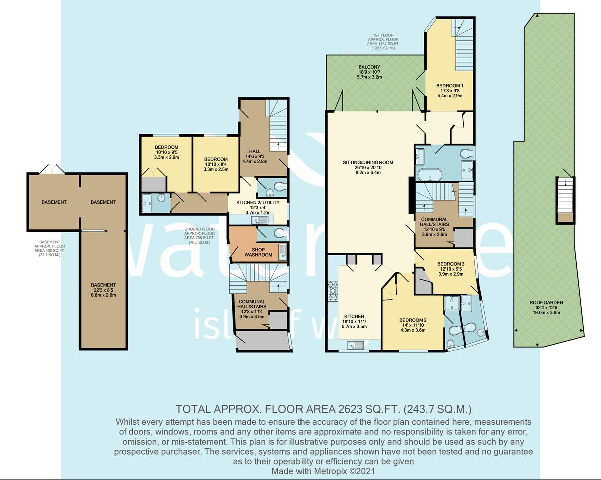High Street, Cowes floorplan