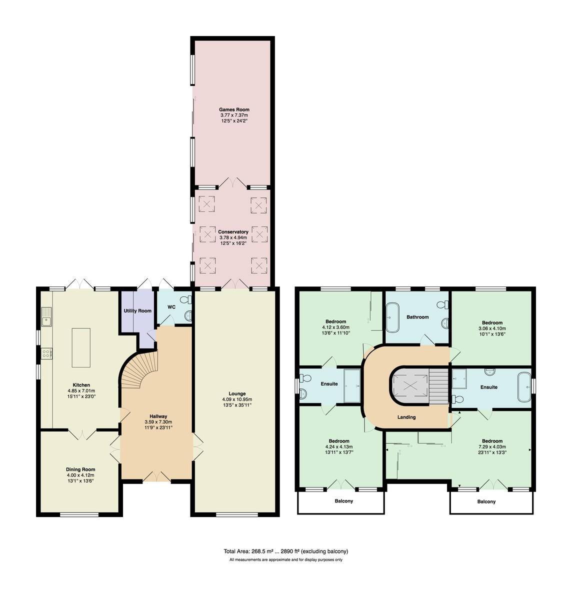 Carbery Avenue, Southbourne floorplan