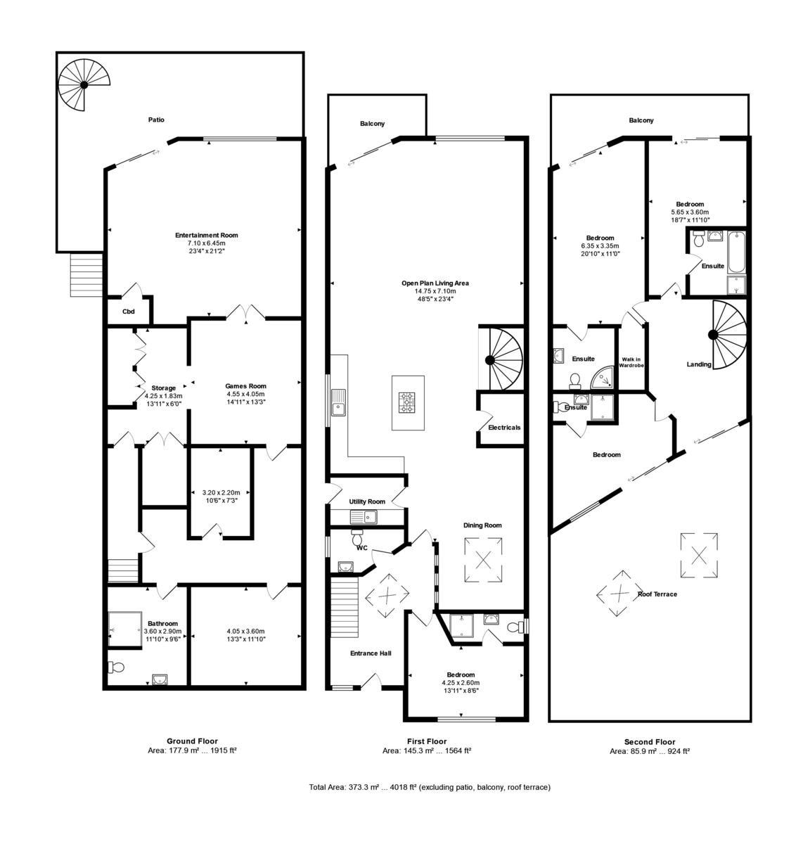 Willow Way, Christchurch, Dorset, BH23 1JJ floorplan