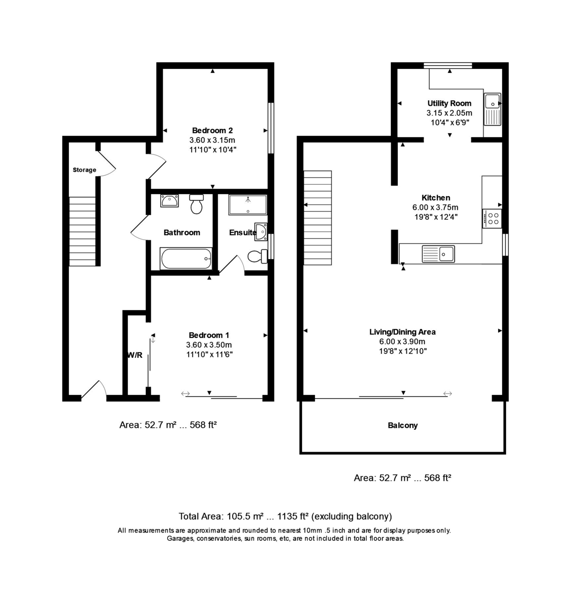 Harbour View, 18 St Catherine's Road, Southbourne, Dorset, BH6 4AA floorplan