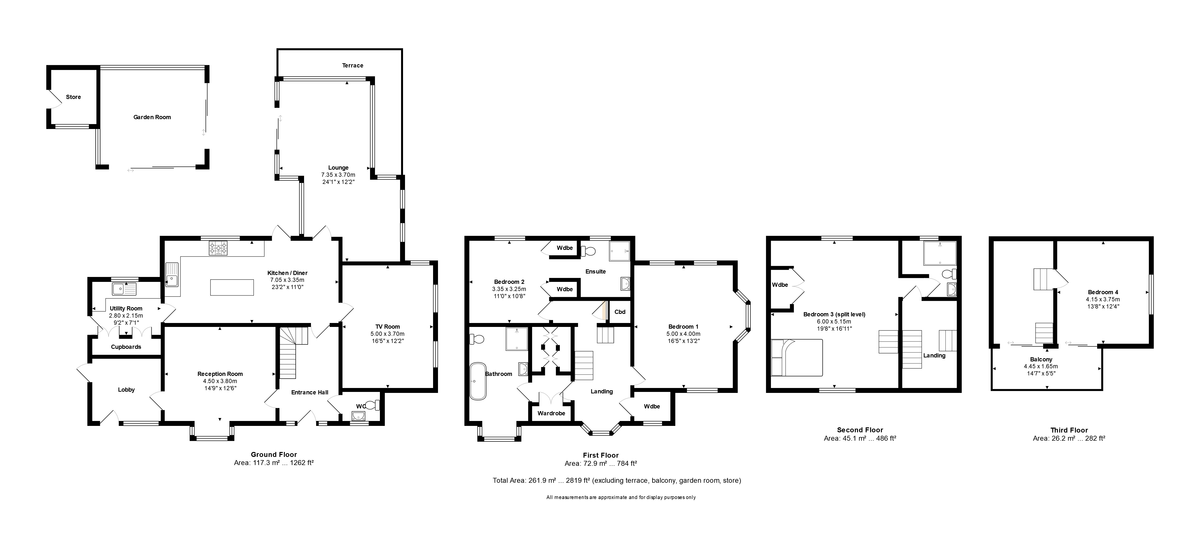 Bridge Street, Christchurch, Dorset, BH23 1EB floorplan