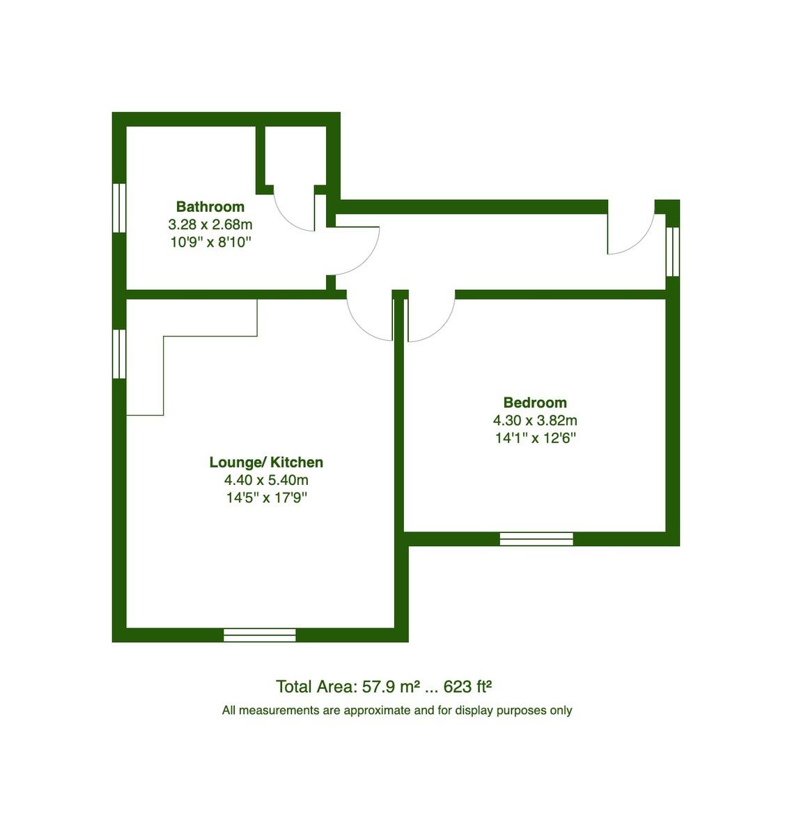 Coren Court, 1181 Christchurch Road, Bournemouth, Dorset floorplan