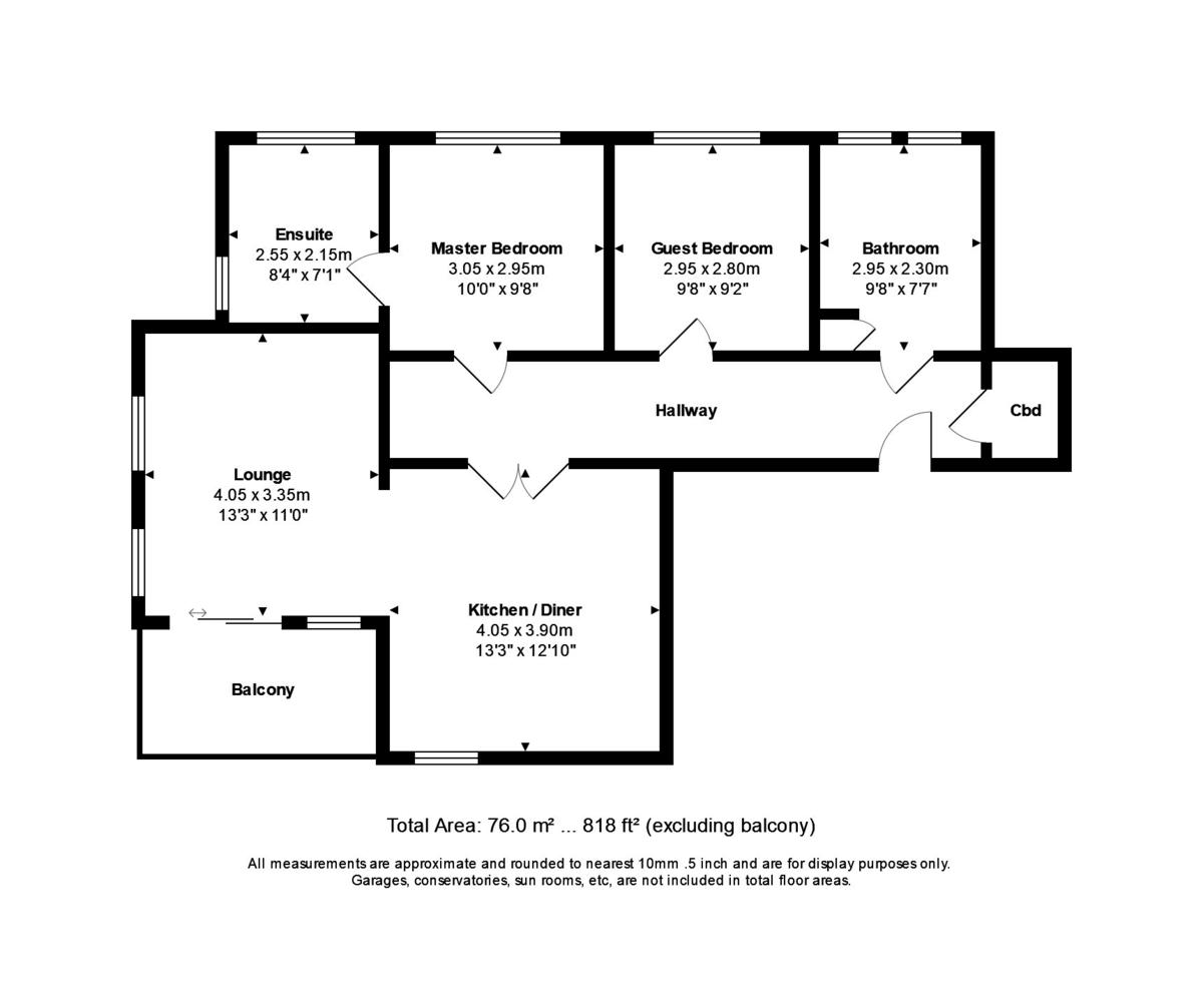 Latitude West, Southbourne, Dorset, BH6 4AG floorplan