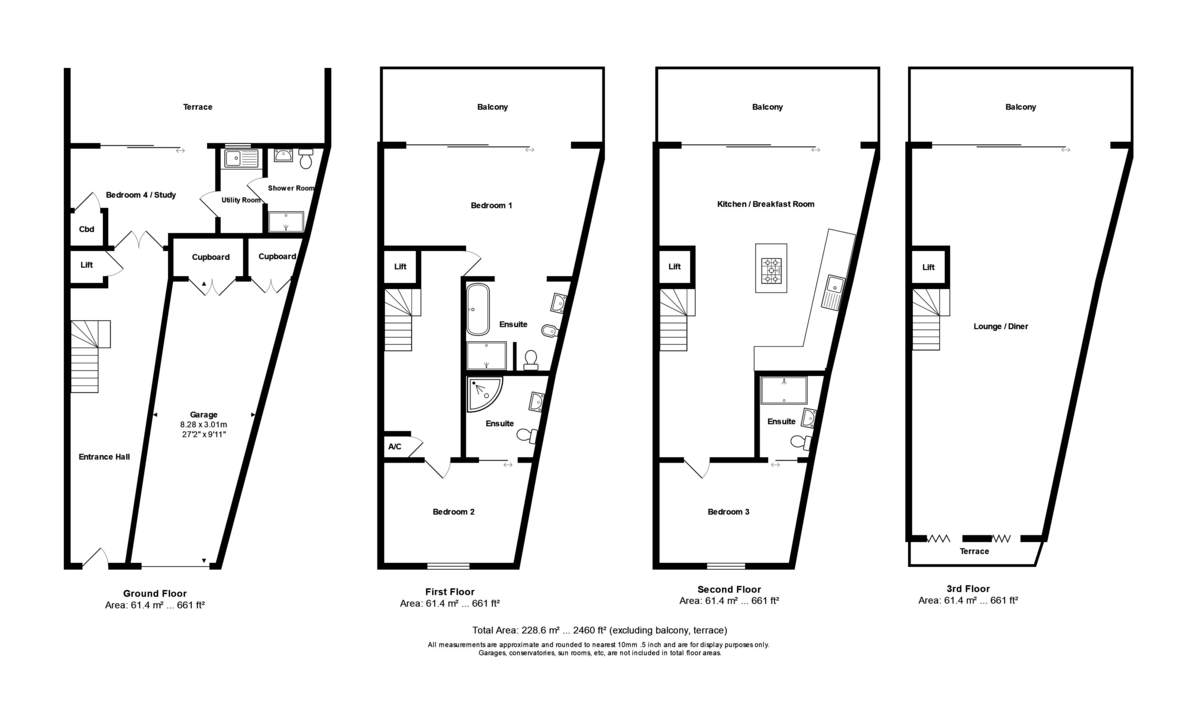 Iridium, 95 Mudeford, Christchurch, Dorset, BH23 3NJ floorplan