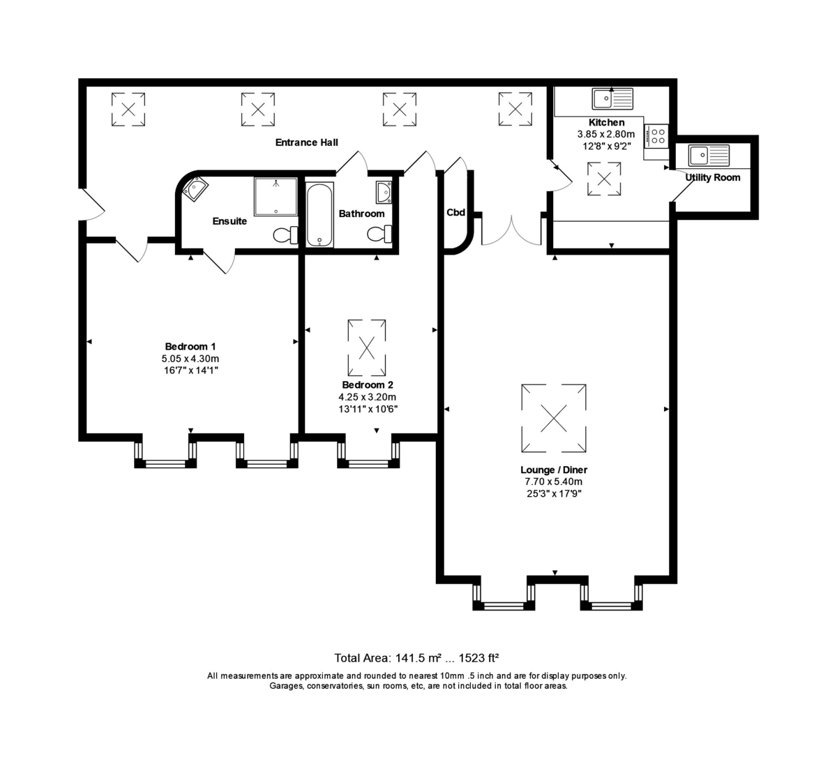 Christchurch floorplan