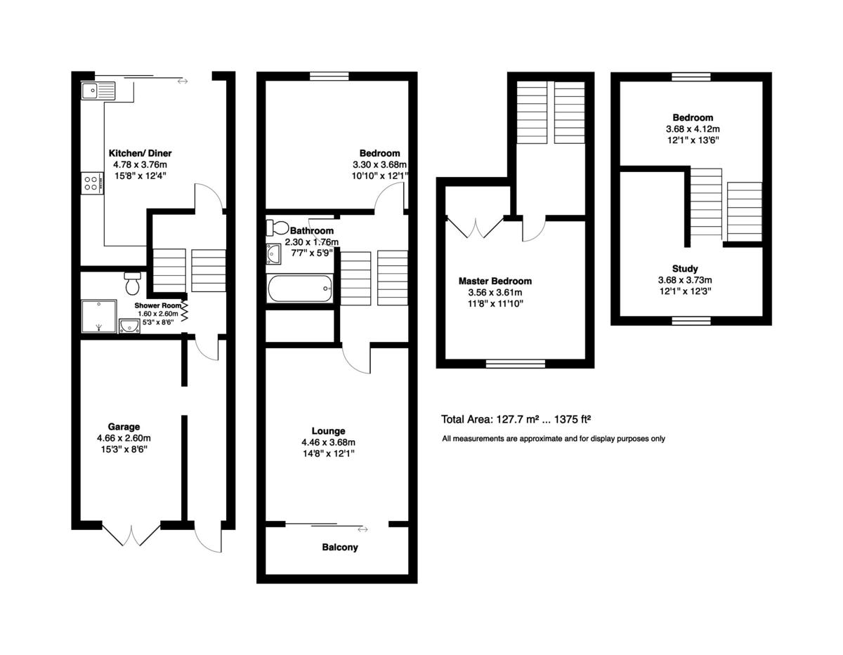Avon Wharf, Bridge Street, Christchurch, Dorset, BH23 1DJ floorplan