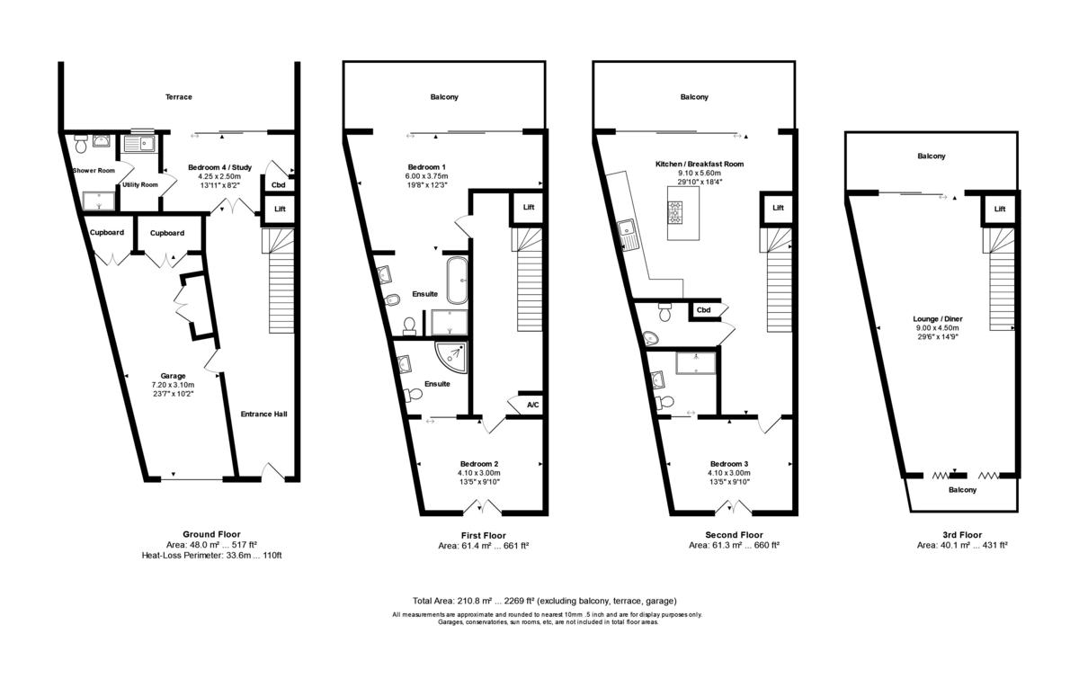 Iridium, 95 Mudeford, Mudeford, Dorset, BH23 3NJ floorplan