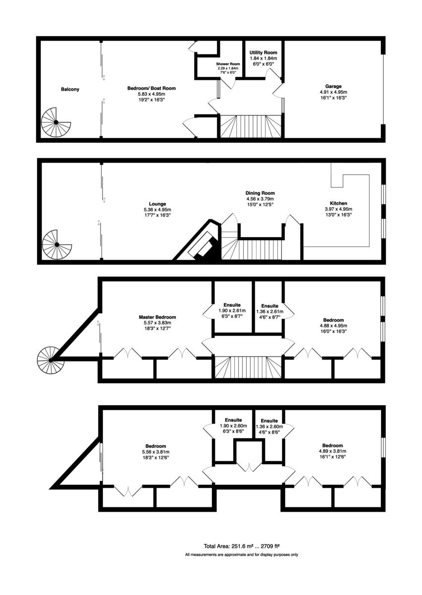 Priory Quay, Christchurch, Dorset, BH23 1DR floorplan