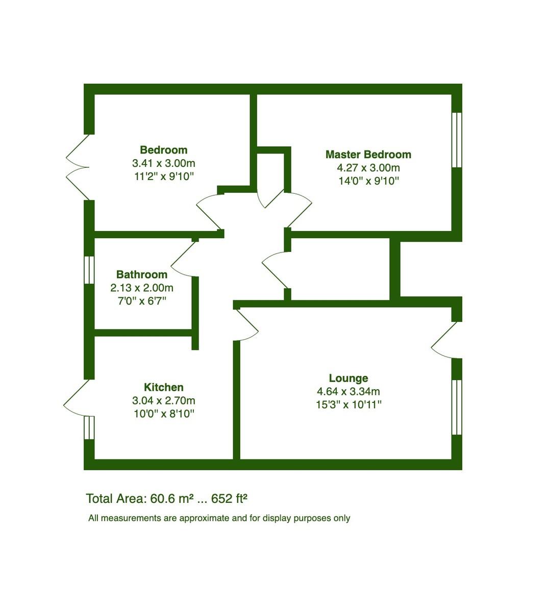 New Milton, Hampshire floorplan