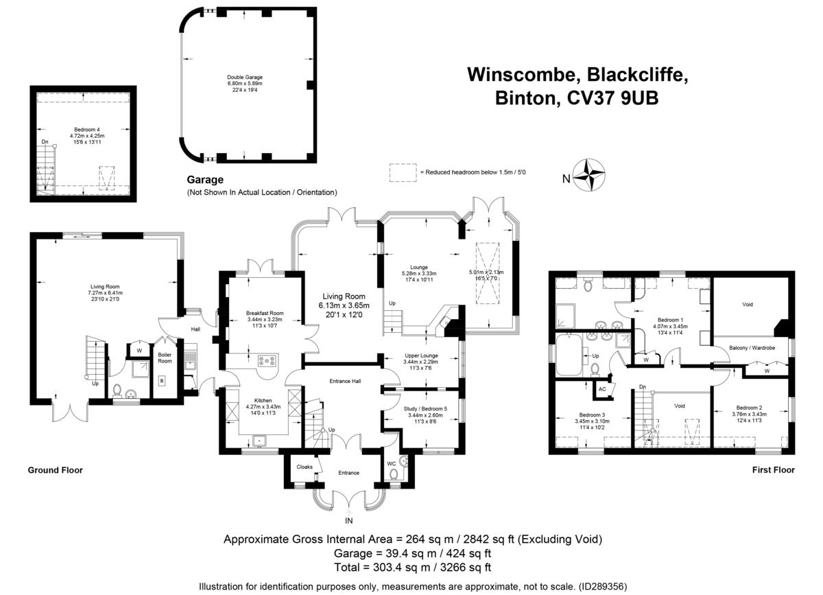Blackcliffe, Stratford-upon-Avon, Warwickshire floorplan