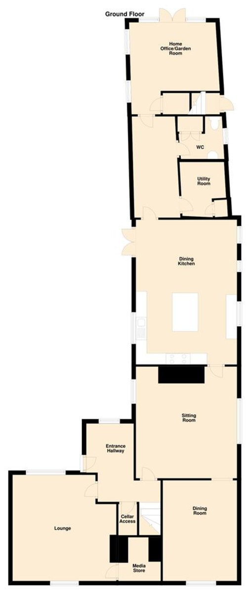Main Street, Normanton On Soar, Leicestershire floorplan