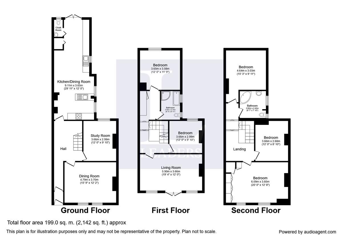 Worthing, West Sussex floorplan