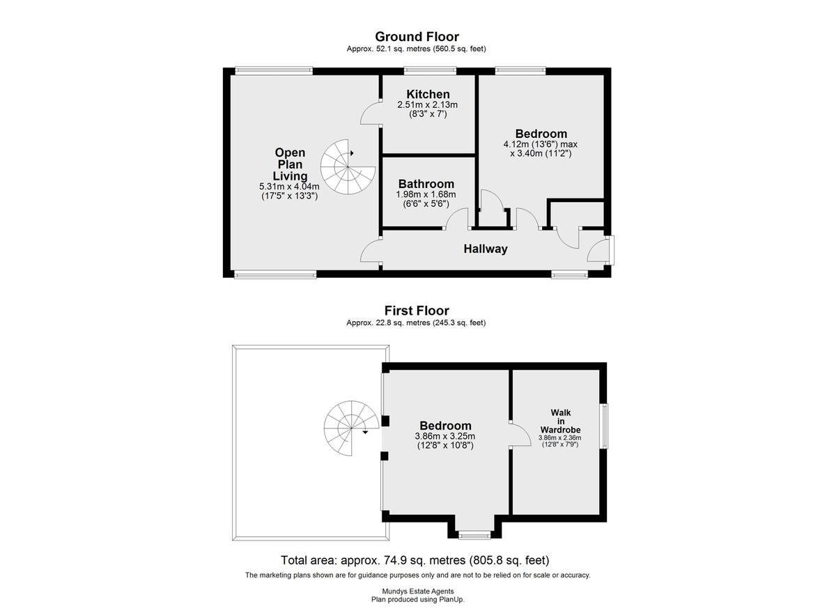 Burton Waters, Lincoln floorplan