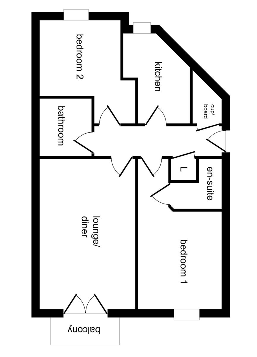 Neptune Court, Brighton Marina Village floorplan