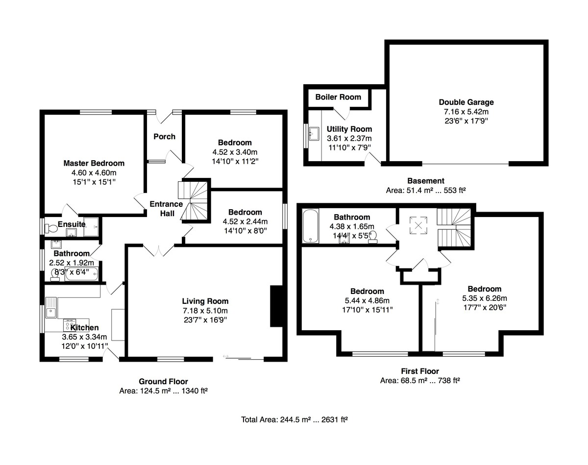 Saltdean, Brighton floorplan