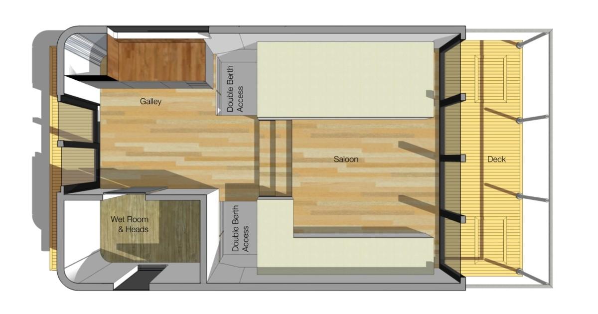 Chichester Marina, Birdham, Chichester floorplan