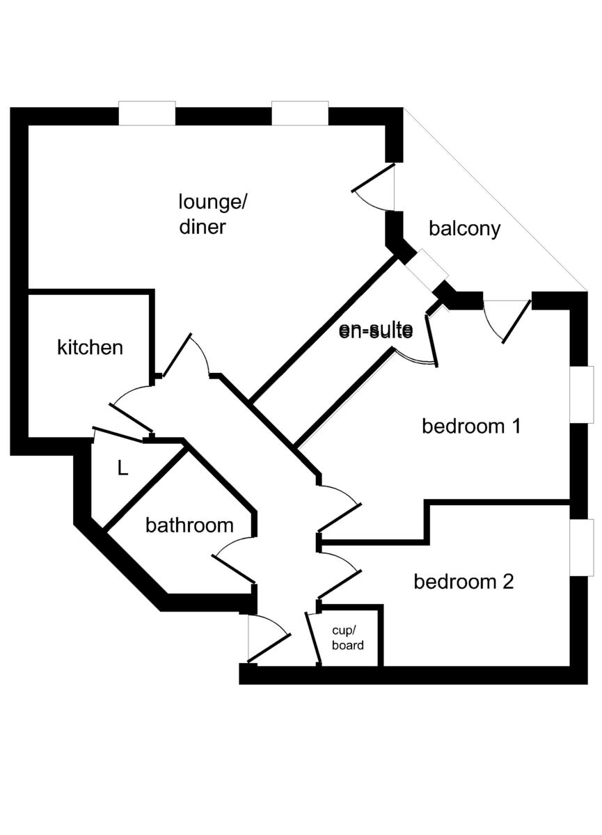 Merton Court, Brighton Marina Village, Brighton floorplan