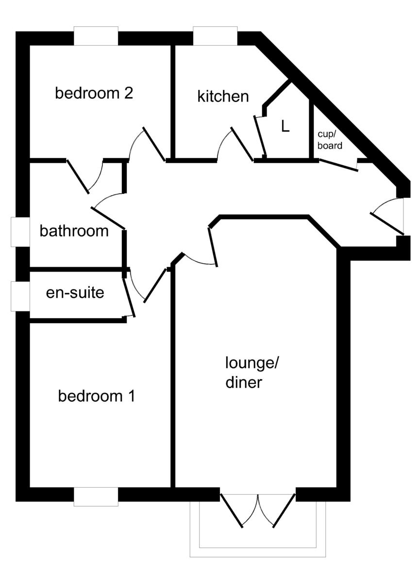 Hamilton Court, Brighton Marina Village, Brighton floorplan