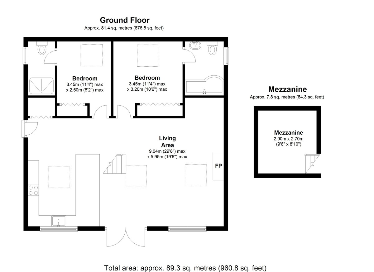 Thames Street, Hampton floorplan