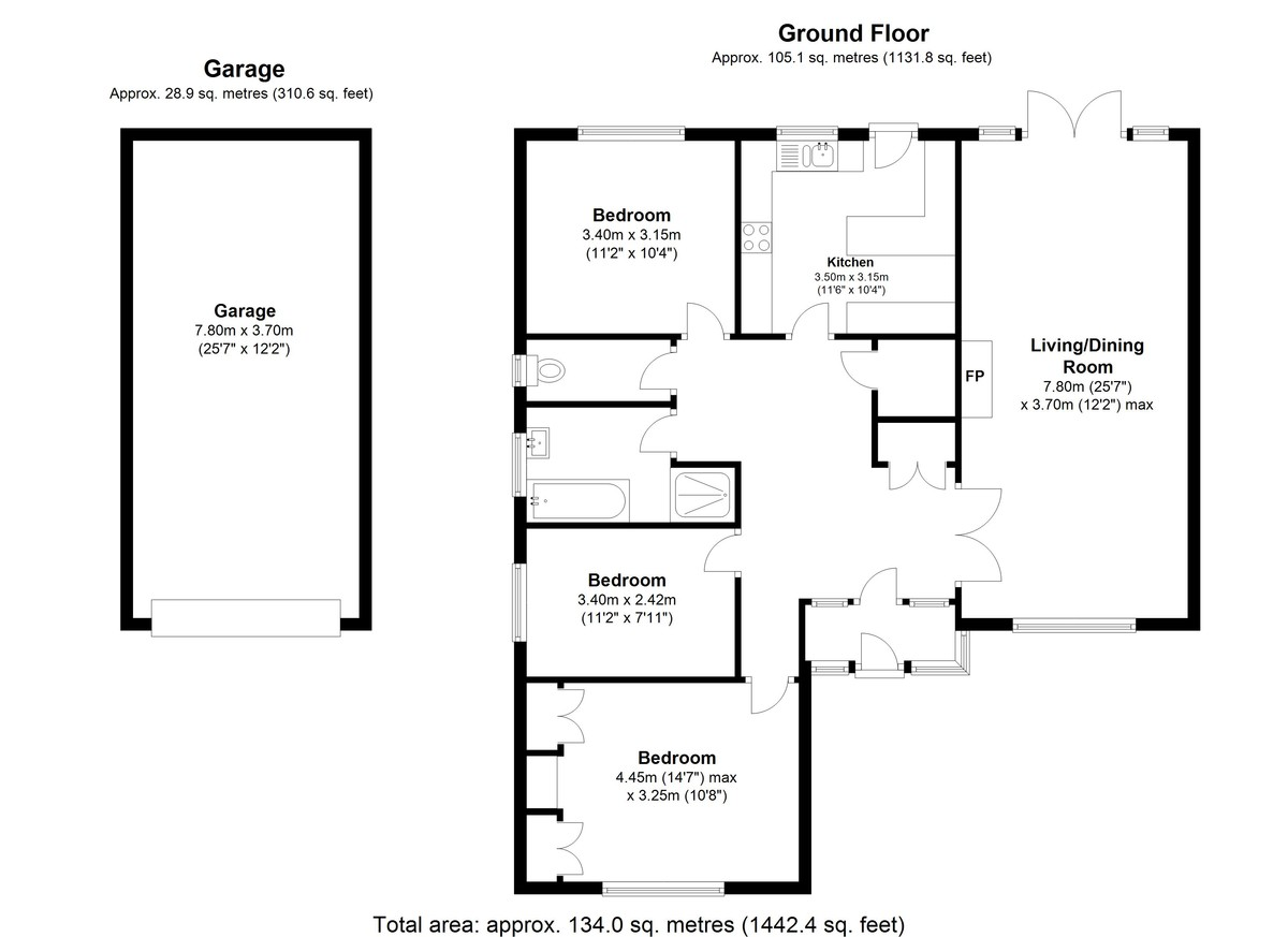 East Molesey floorplan
