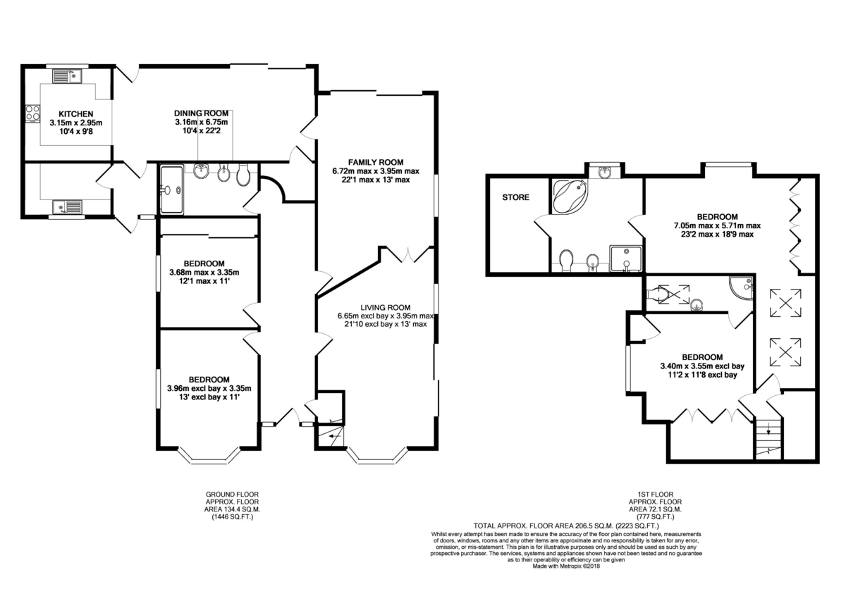 Staines-upon-Thames floorplan