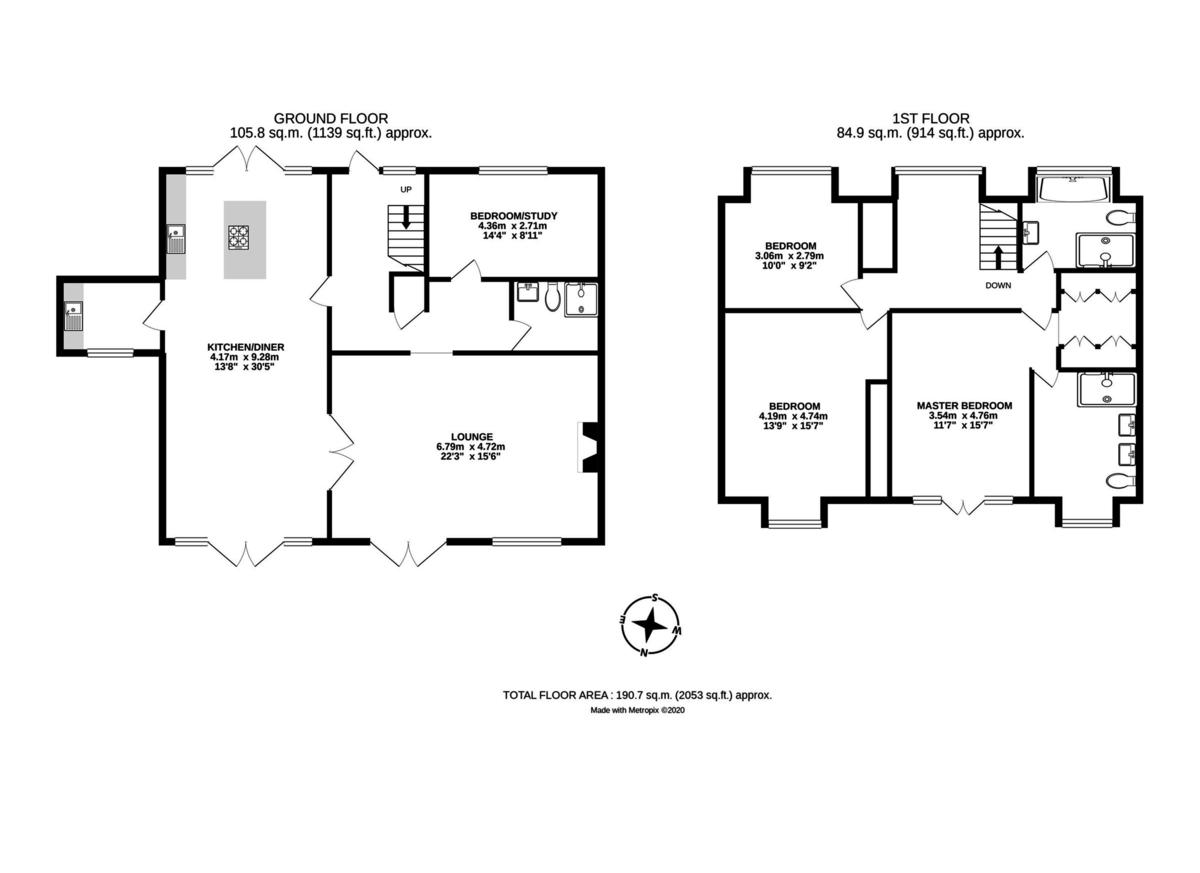 Egham floorplan