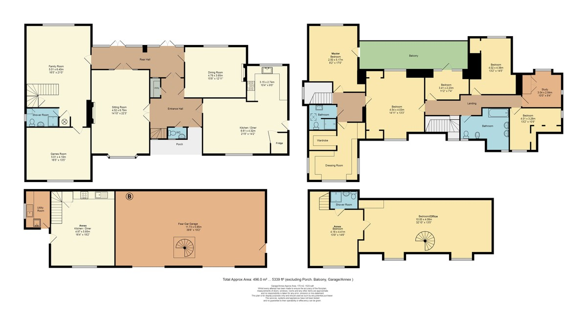 Laleham on Thames floorplan