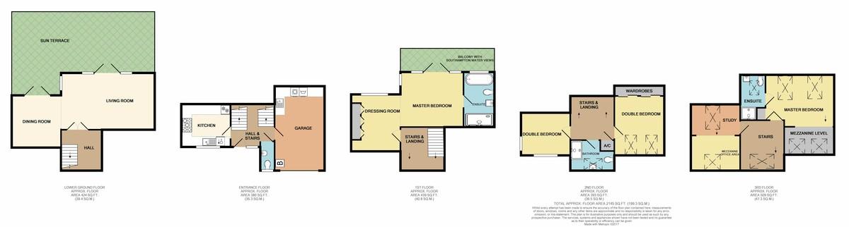 Hythe Marina Village, Southampton floorplan
