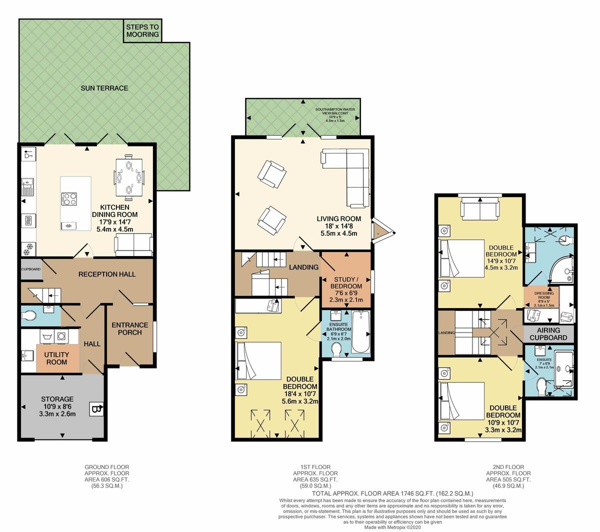 Astra Court, Hythe, Southampton floorplan