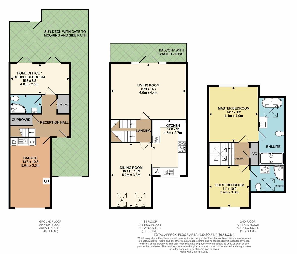 White Heather Court, Hythe Marina Village, Southampton floorplan