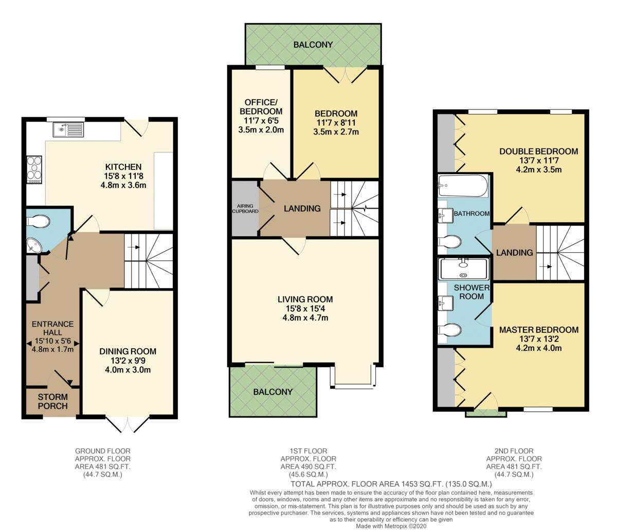 Selman Close, Hythe, Southampton floorplan