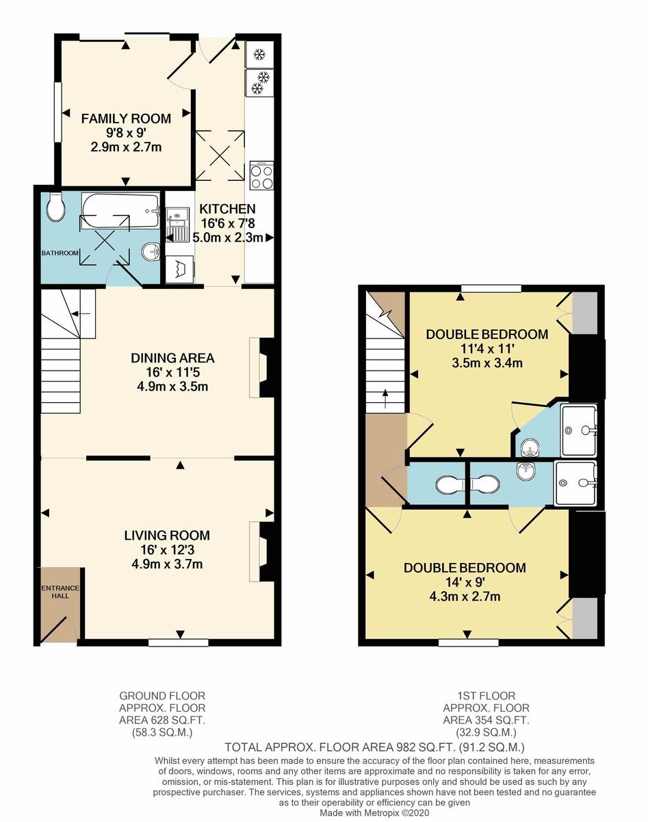 Prospect Place, Hythe floorplan