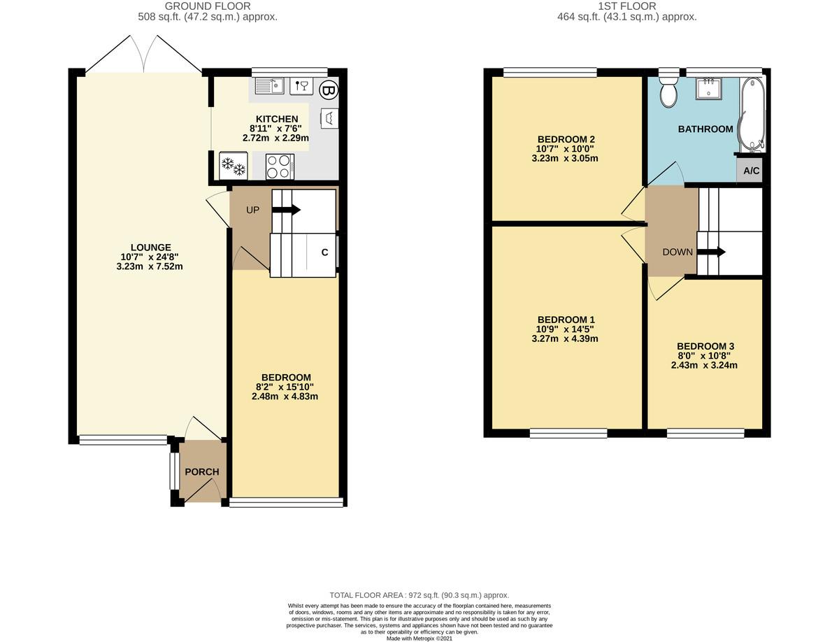 Dibden Purlieu, Southampton floorplan