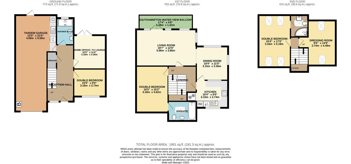 White Heather Court, Hythe Marina Village floorplan