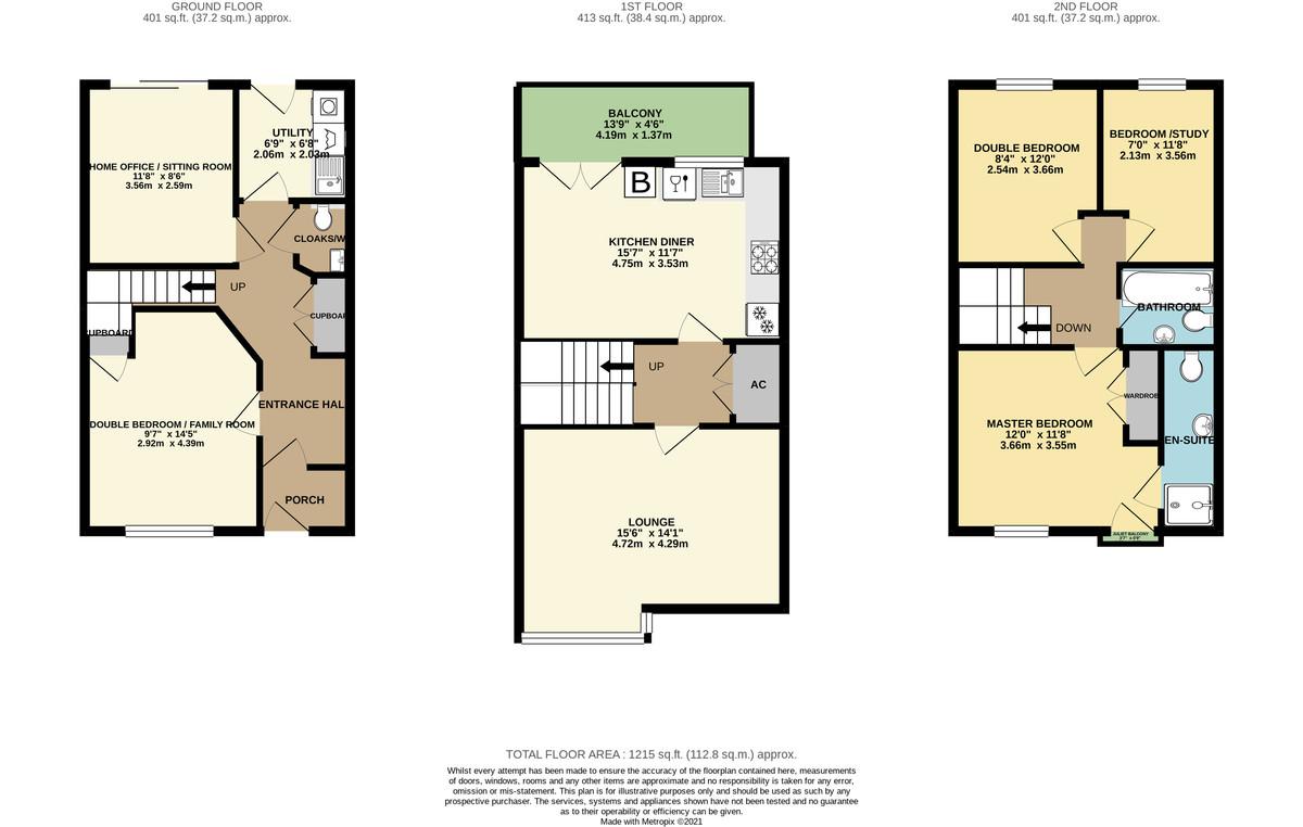 Scott-Paine Drive, Hythe floorplan