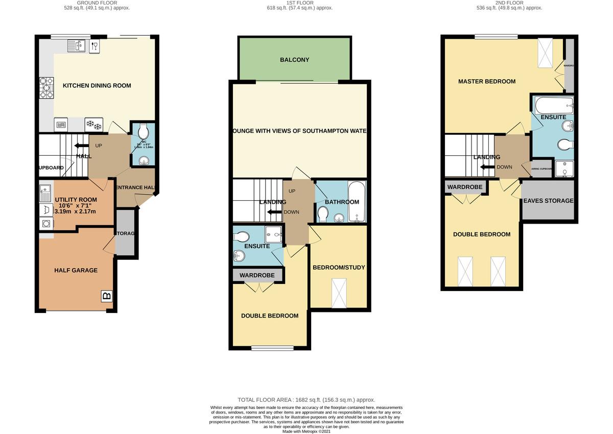 Endeavour Way, Hythe Marina Village floorplan