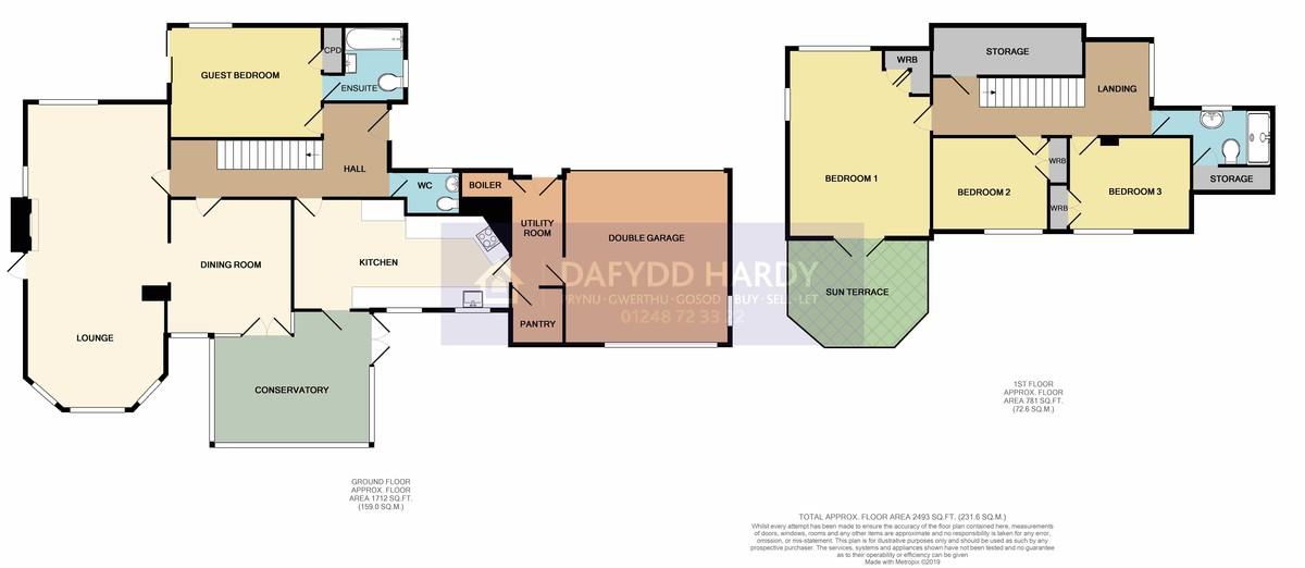 Glyngarth, Anglesey, North Wales floorplan