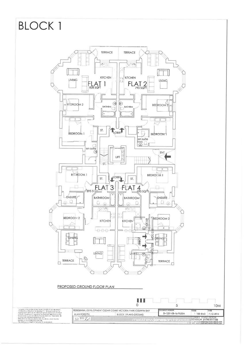 Cedar Court, Colwyn Bay, North Wales floorplan