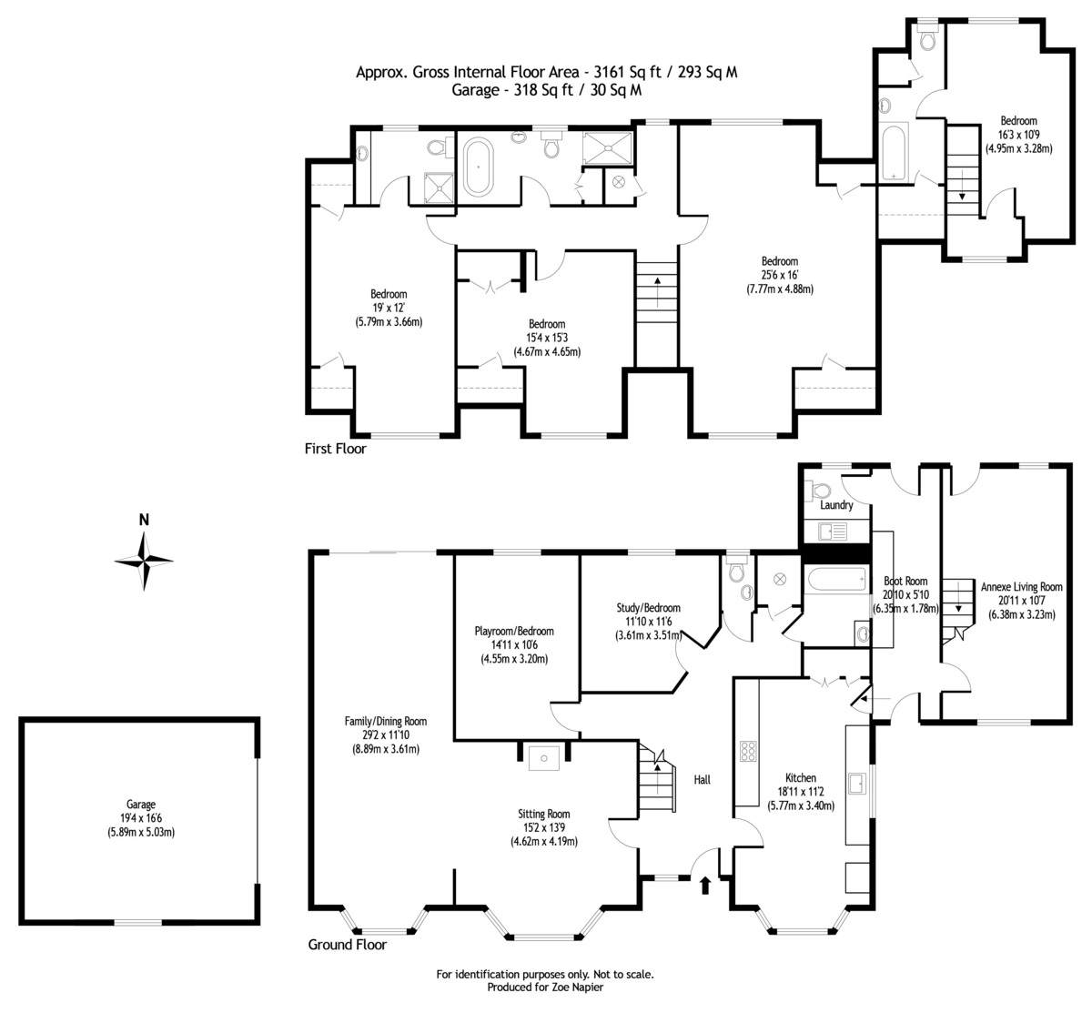 Scotts Hill, Southminster floorplan